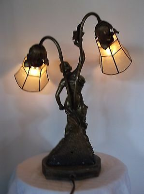 Art Nouveau Lady Lamp