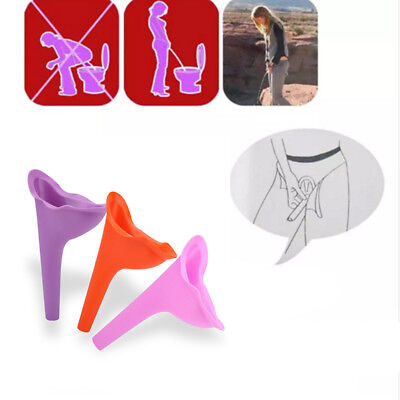 Female Women Urination Device Funnel Portable Outdoor Travel Standing Up Toilet