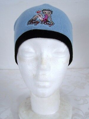 King Features Syndicate Betty Boop Blue Beanie Hat