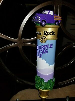 Big Rock Brewery Purple Gas RARE beer tap handle mint