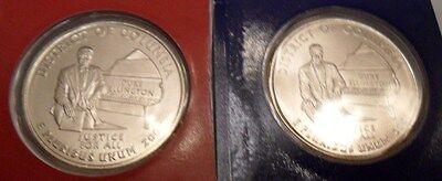 2009 P & D District of Columbia Quarter Set *MINT CELLO* **FREE SHIPPING**