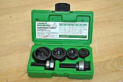 Greenlee Tools SlugBuster Manual Knockout Punch Set 7235BB 32013 Conduit