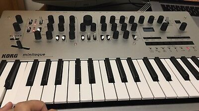 Korg Minilogue 4 Voice Polyphonic Analog Synth