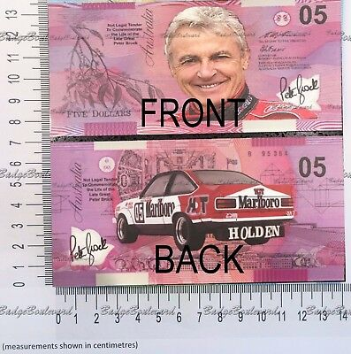Peter Brock Bathurst Marlboro Novelty 05 Note