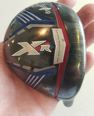 Callaway XR Pro Fairway Wood head 16 degree