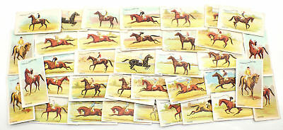 Vintage Wills 1906 Melbourne Cup Winners Cards x 36
