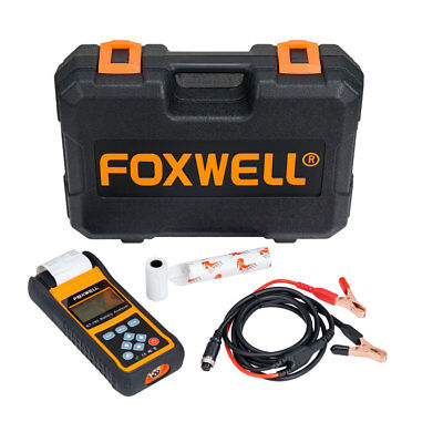 Foxwell BT-780 Car Battery Analyzer Charging System mit Built-in Thermal Printer