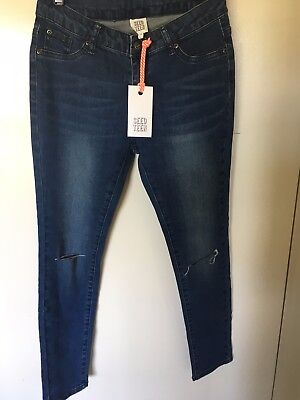 New Seed girls size 10 jeans RRP $ 60