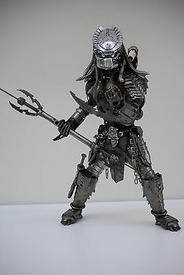 Predator Gift For Boy Friend Gift For Aniversary Surprised Gift Metal Sculpture