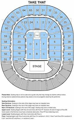 Take That - GOLD seating tickets x 2 - Melbourne, Nov 15, 2017