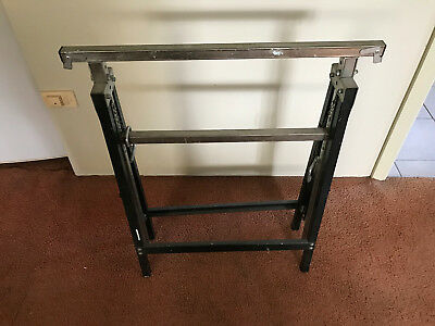 Metal trestle - adjustable (1 only not a pair)