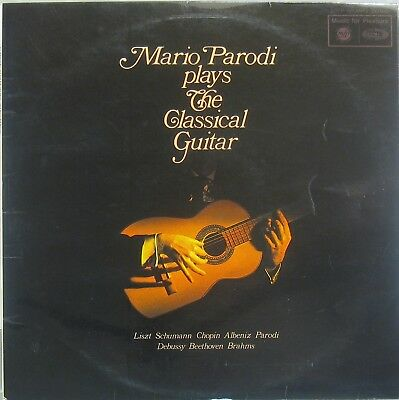 Mario Parodi plays the classical guitar ( Liszt , Schumann , Chopin , Albeniz )