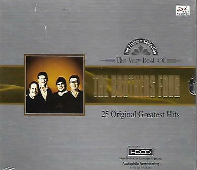 The Very Best of The Brothers Four 25 Original Greatest Hits CD HDCD NEW Music