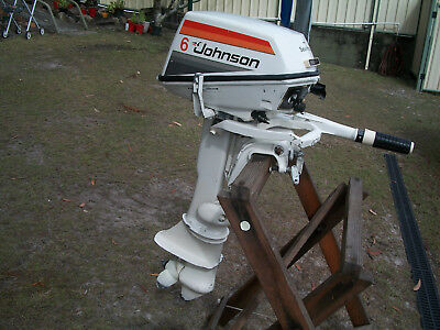 "1978 Johnson""sea Horse"" 6Hp Outboard Motor"