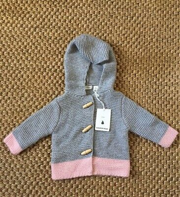 Country Road Girls Brand New with Tags Knitted Jacket size 6-12 months