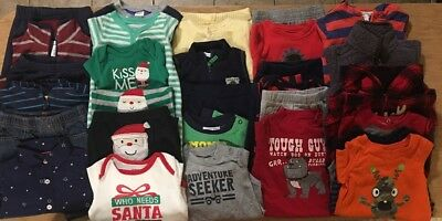 EUC Adorable Baby Boys Fall/Winter CLOTHES LOT Outfit Sets 3 Months Lot #6