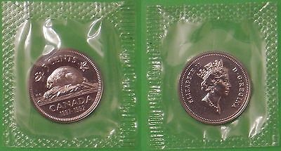 1992 Canada Nickel Sealed in Cellophane