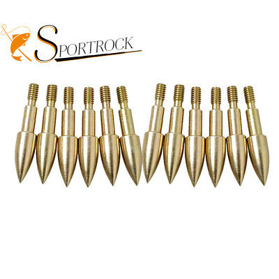 12pcs Target Tips ArrowHeads Boardheads For Compound Archery Hunting Practice