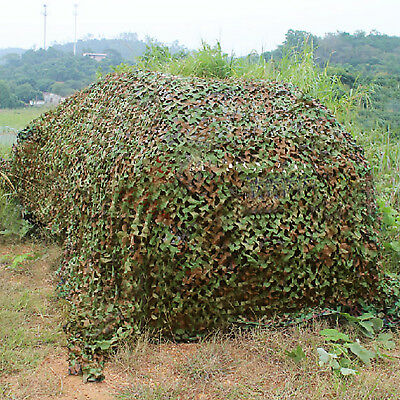 7x1.5m,4x 2M, 3x2M Net Camouflage Jungle Filet Hide  chasse camp militaire choix