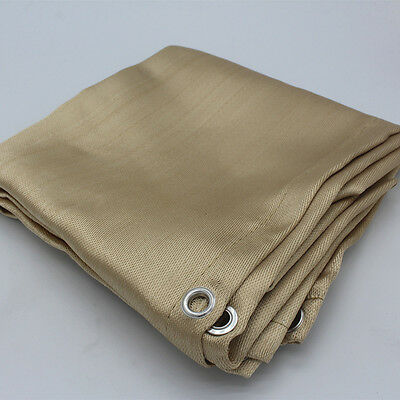 Welding Blanket | 4' x 6' Fire Flame Retardant Fiberglass Safety Shield Grommet