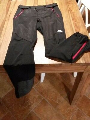 pantaloni pant softshell THE NORTH FACE NEVER STOP TOURING nero alpinismo sci