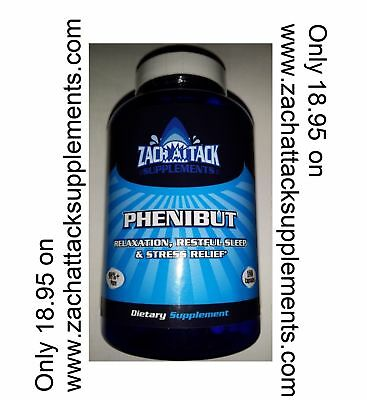PHENIBUT 180 Capsules x 250mg - Best QUALITY - Quick Shipping