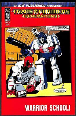 Transformers Generations #1 1:50 Retro Art Cover NM