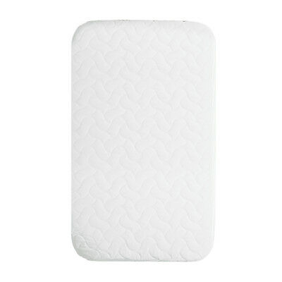 Chicco Next 2 Me Baby Crib Mattress Quilted Microfiber Cover - White - New