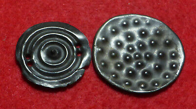 2 Celtic Bronze Mounts