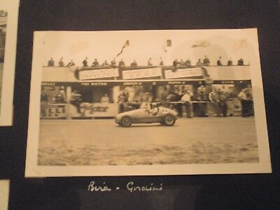 Period Photos Motor Racing Circa 1950's Very Authentic Pictures