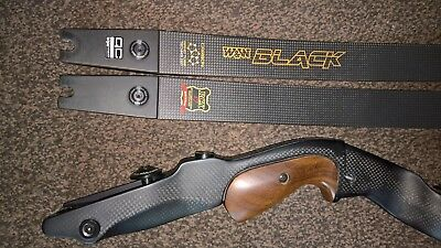 W&W rcx-17 , win&win BLACK , carbon recurve traditional not compound.
