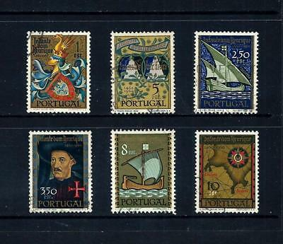 PORTUGAL _ 1960 'PRINCE HENRY' SET of 6 _ used ____(501)