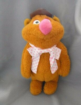 Vintage  Soft Toy Fozzy Bear From The Muppet's Fisher-Price Toy's 1976   Hb