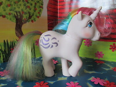 Fab Rare Vintage Hasbro 1983 G1 *windy* Rainbow Unicorn My Little Pony