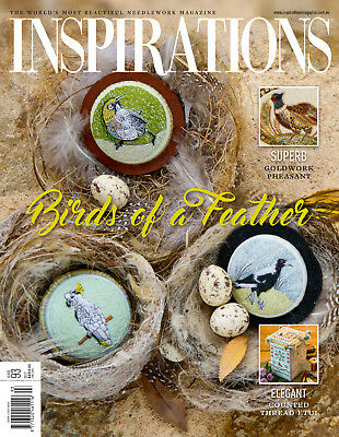Classic Inspirations Embroidery Magazine - Issue #93 (Jan'17)