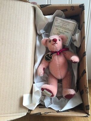 Stunning Dean's Bear Limited Edition Cinders With Tags & Original Box Rare