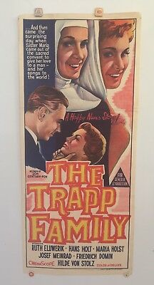 The Trapp Family Original Vintage Daybill Movie Poster