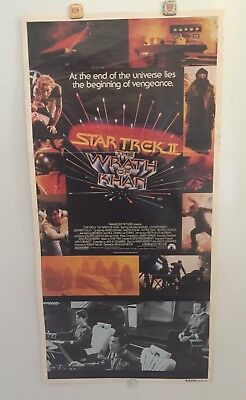 Star Trek Ii The Wrath Of Khan Original 1982 Daybill Movie Poster