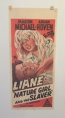 Nature Girl And The Slayer Original Vintage 1959 Daybill Movie Poster