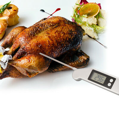 Foldable Meat Thermometer Digital Folding Probe Cooking Food Thermometer BI807