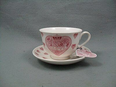Queen's Made With Love Cup & Saucer