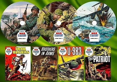 War Picture Library Comic Books On 3 DVD Rom's