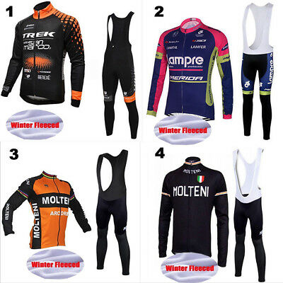 Completo Ciclismo Invernale Felpato Con Salopette New Gel 9D Winter Cycling