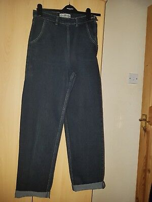 retro jeans from collectif size 10 black