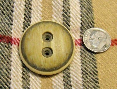 LOT OF 4~VINTAGE BUTTONS~LGE /BIG~THICK~34 mm~KNITTING~SCARVES, LEGGINGS, HATS