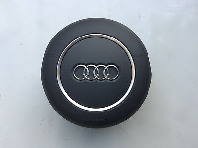 Audi A3 S3 S Line Flat Bottom Round Steering Wheel Airbag 8V0880201Bb6Ps
