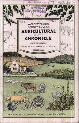 Vintage Agricultural Chronicle Worcestershire 1935 1930s farming life Worcs