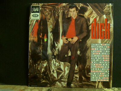 DICK RIVERS  Dick   LP   French  Rock and Roll  Beat   Great !