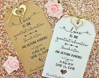 Wedding Abroad, Destination Wedding, Save The Date Invitation, Lets Fly