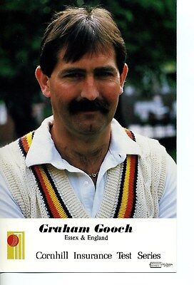 Cornhill Card Series C Graham Gooch